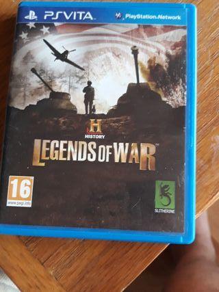 Legends Of War History PS VITA