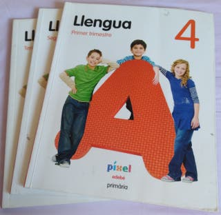 Libro primaria 4, Llengua