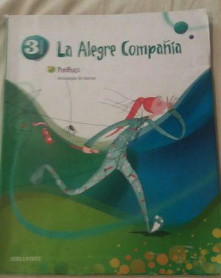 Libro La alegre compañía 3° primaria