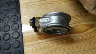 placa sandwich radiador aceite
