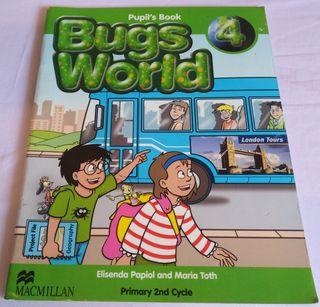 Libro primaria4, Ingles