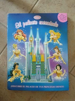 Libro de juegos disney princesas 3d