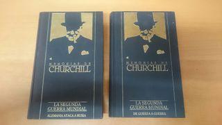 LIBROS W.S. CHURCHILL