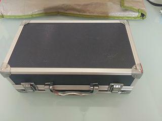 Caja maletin seguridad metalico