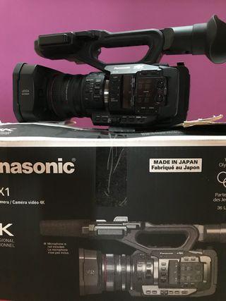 Panasonic 4k 60p hc-x1 video