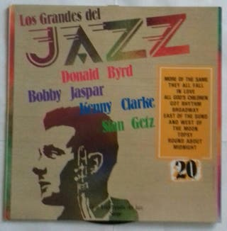 Disco vinilo Los grandes del Jazz.