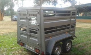 Remolque para corderos o cabritos