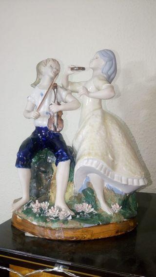 figura porcelana fina