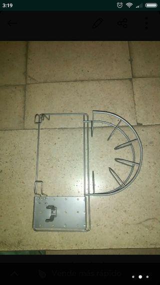 soporte para tubo de aspiradora