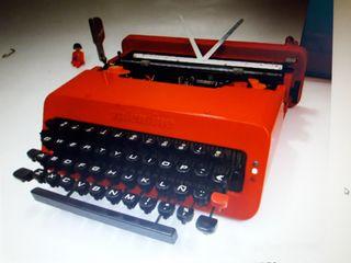 olivetti valentine maquina escribir pop