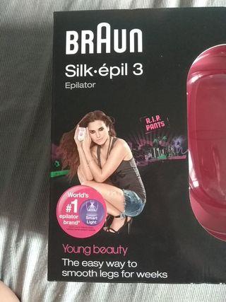 Braun Silk Épil 3 depilación