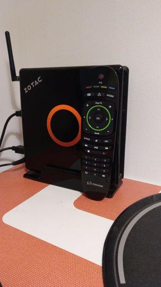 Ordenador Mini PC Corei7 16GB 250GB SSD 4K Mando