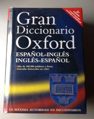 GRAN DICCIONARIO OXFORD ( ingl