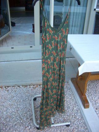 vestido de SEDA muy fresquito (talla 40/38)
