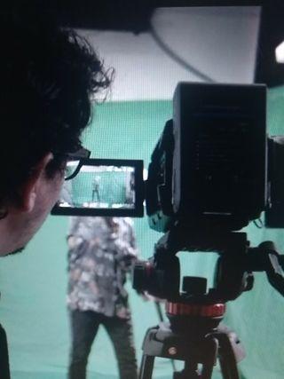 Operador de cámara de video