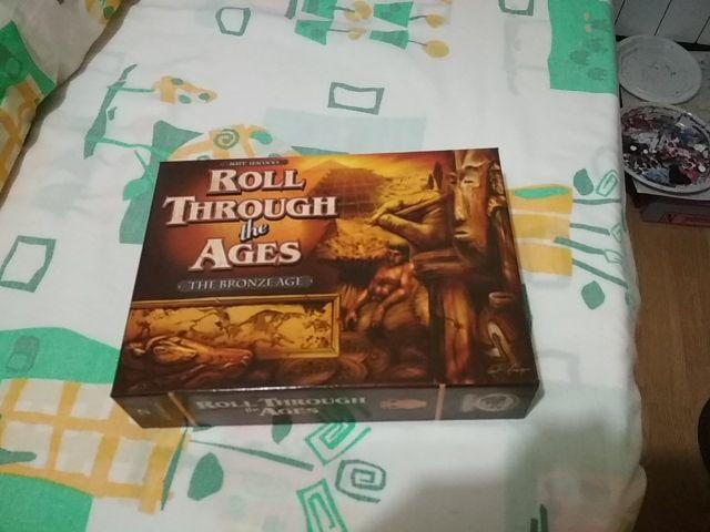 Roll Through The Ages Juego De Mesa De Segunda Mano Por 30 En