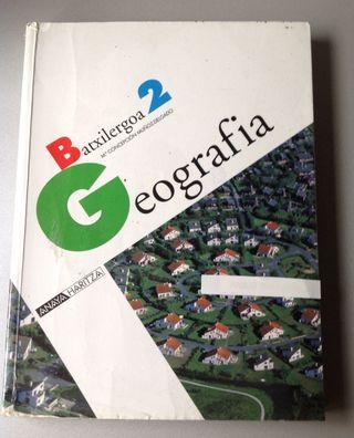 GEOGRAFIA 2°BATXILERGOA