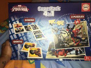 Spiderman 4 en 1