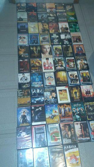 67 Peliculas Originales ,en Dvd muchas estan sin a