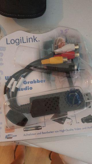 logilink adaptador grabador video audio