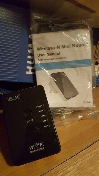 Receptor wifi mini router