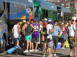 Autobus de Arenal Sounde desde Bilbao