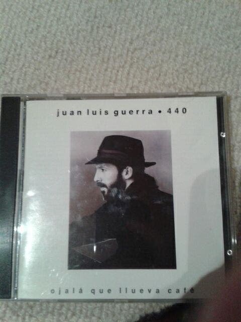 CD Juan Luis Guerra - Ojalá que llueva café
