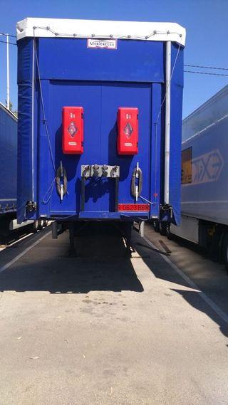 semirremolque/plataforma/camion/trailer