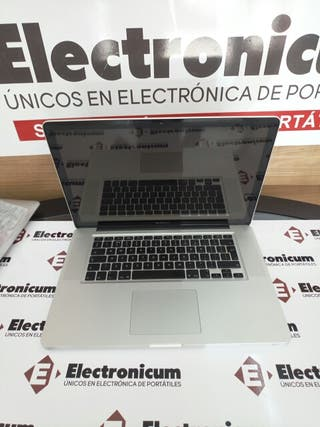 Macbook Pro 15 i7 4GB 500GB