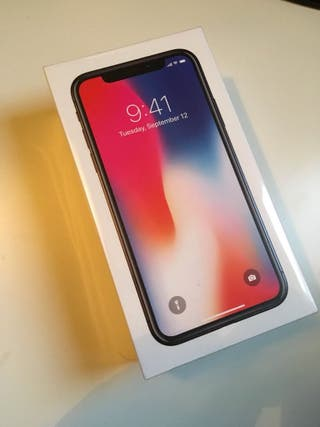 iphone X NUEVO PRECINTADO