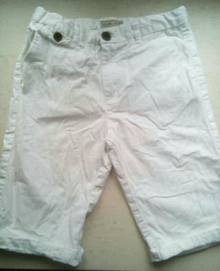 Bermudas/pantalón corto chinos Zara boys 9/10 años