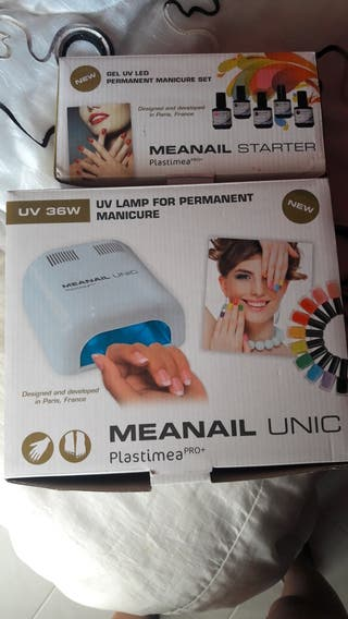 Lampara UV Uñas permanentes y gel permanente