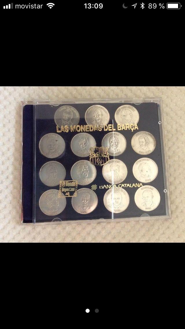 Monedas del Barca