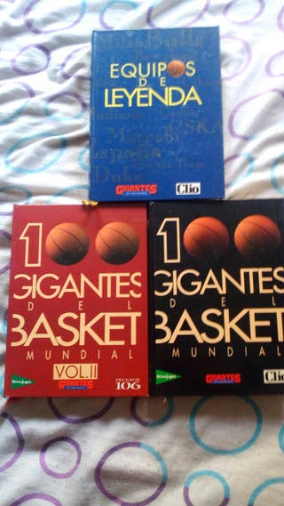 3 libros de baloncesto