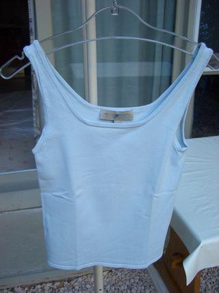 camiseta azul clarita (talla 36/38)