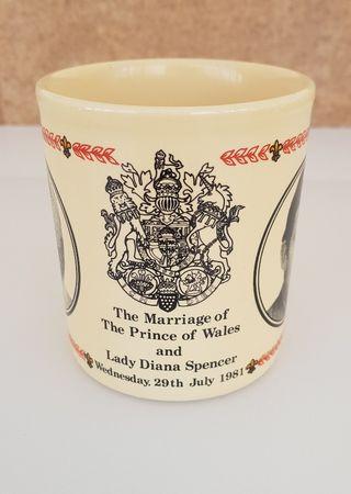 Taza Boda Principe de Gales y Lady Diana