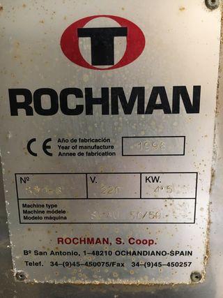 Embolsadora industrial Rochman