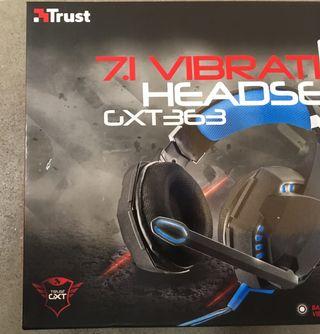 Auriculares Game Trust 7.1 GXT363 -nuevos estrenar