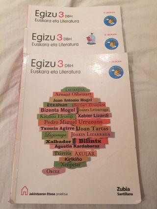 EGIZU 3 EUSKARA ETA LITERATURA