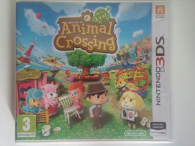Juego Animal Crossing New Leaf Para Nintendo 3ds De Segunda Mano