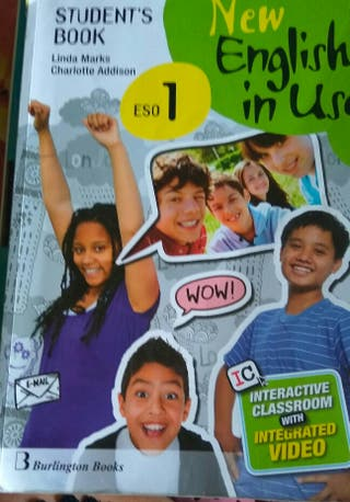 libro de inglés 1° ESO