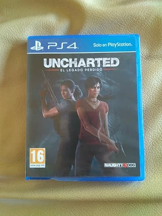 Uncharted El Legado Perdido PS4