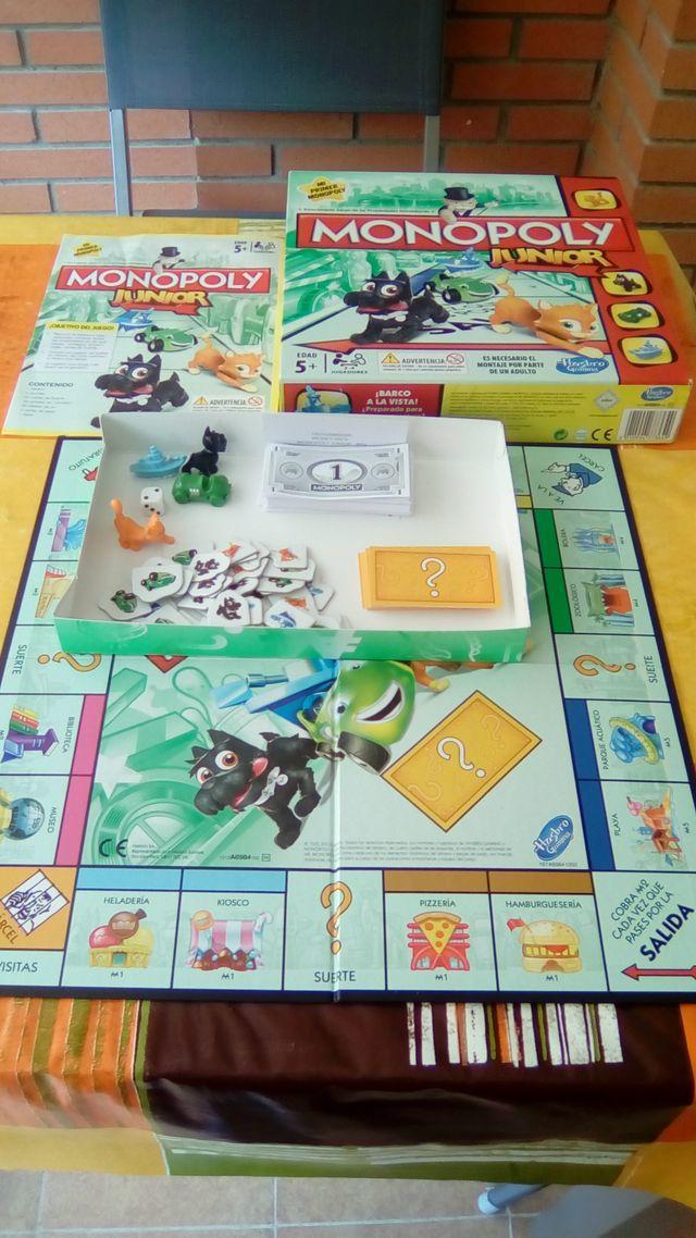 Juego De Mesa Monopoly Junior De Segunda Mano Por 10 En Tarrega En