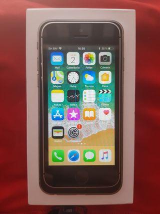 IPhone SE 16GB space gray libre nuevecito