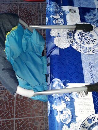 Silla trona portátil para niño bebé
