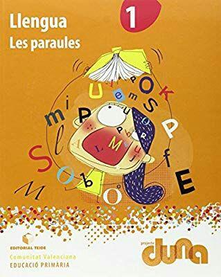 Libro les paraules primero primaria