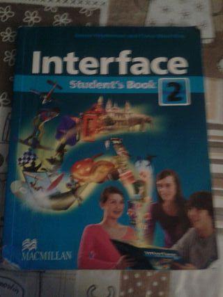 libro de inglés de 2 eso, regalo el cuadernillo.