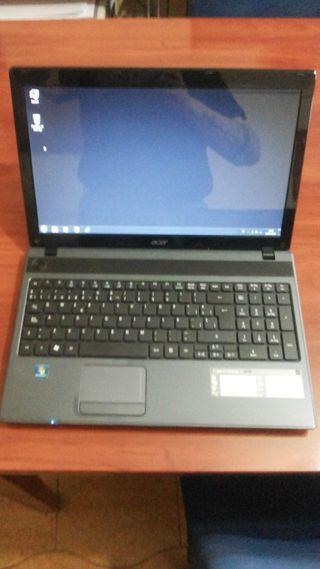Ordenador portatil ACER ASPIRE 5250 IMPECABLE.