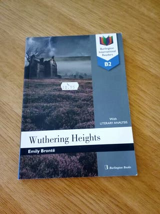 Libro lectura. Wuthering Heights