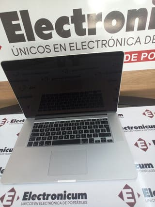 Macbook Pro retina 15 i7 16GB 128GB SSD